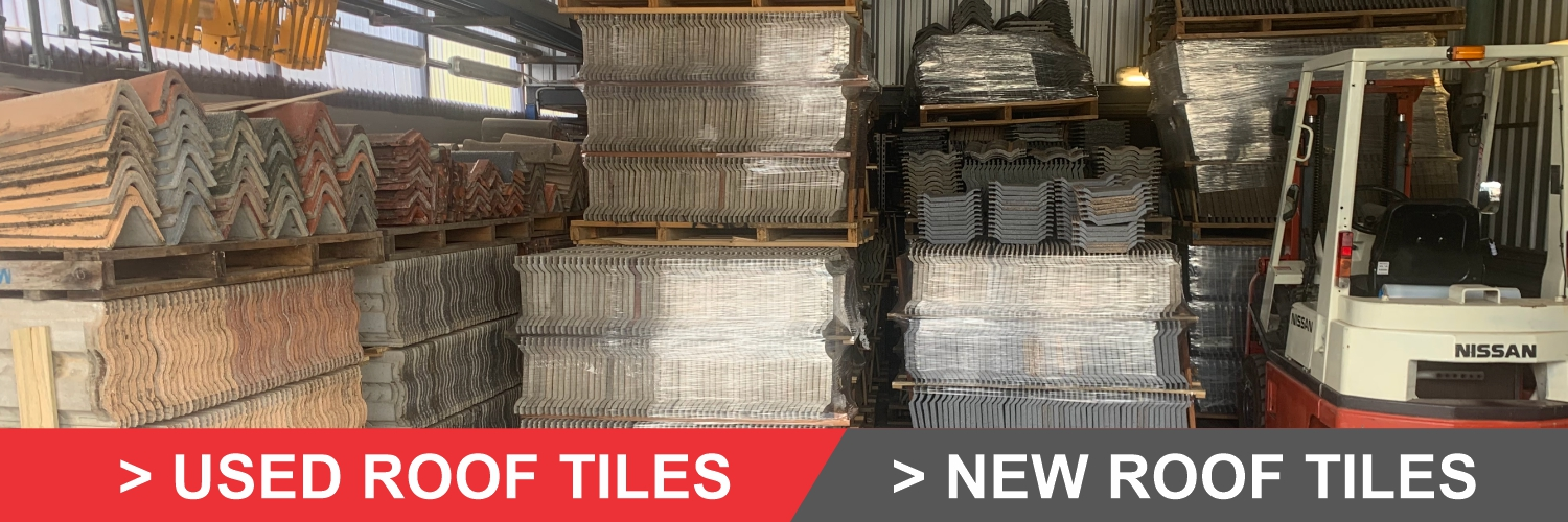 new and used roof tiles in Brisbane